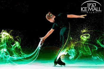 Ice Figure Skating Show at Ice Mall Eilat