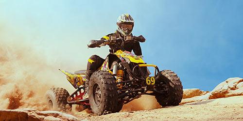 Спорт в пустыне рядом с Эйлатом