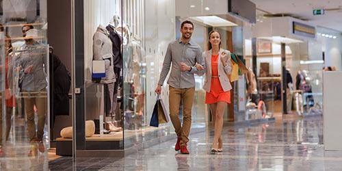 מרכזי קניות
